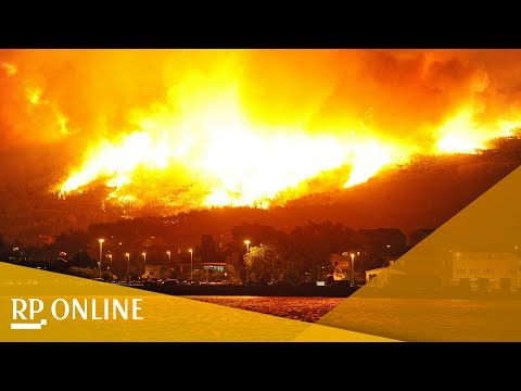 Kroatien: Waldbrände bedrohen die Stadt Split