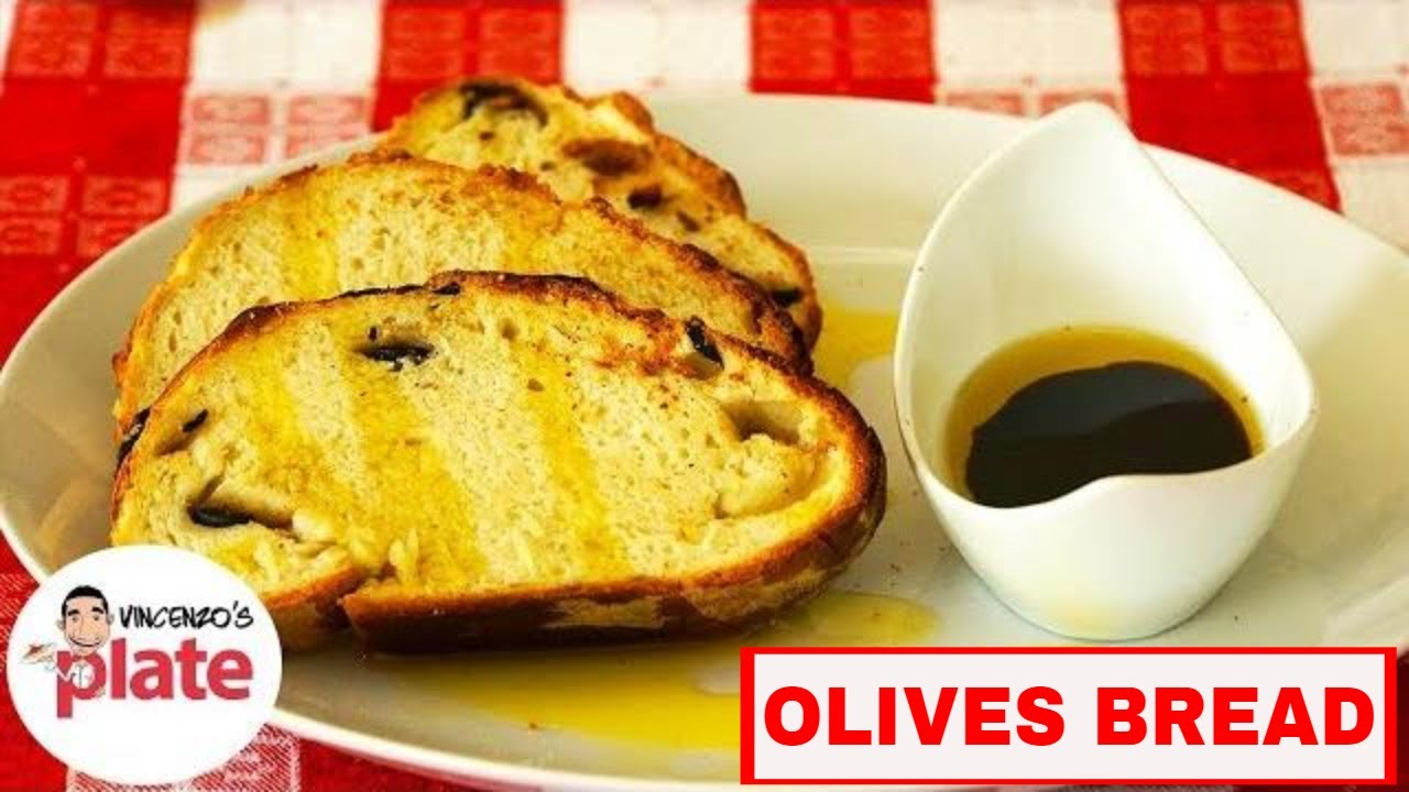 Mediterranean Olive Bread Recipe | How to Make Olive Bread - YouTube