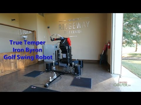 TrueTemper Iron Byron Golf Swing Robot