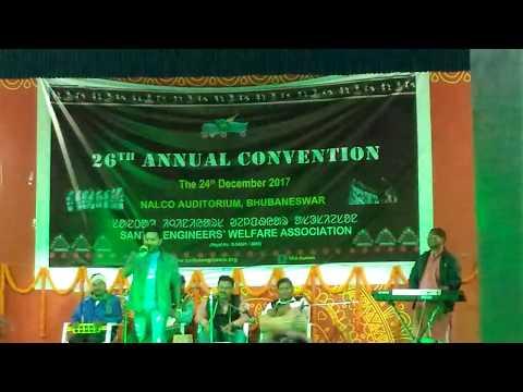 Rasi atu kuli stage program Bhubaneswar// santal engineer welfare association...