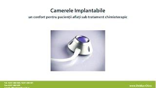 Camerele Implantabile – un confort pentru pacienții aflați sub tratament chimioterapic