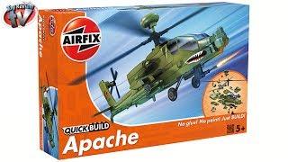 Airfix Quick Build Apache Construction Kit Toy Review