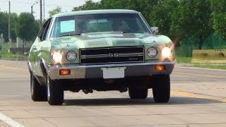 Test Driving 1970 Chevrolet Chevelle - Fast Lane Classic Cars