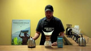 How to Brew Iced Coffee with a Chemex