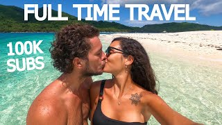 FULL TIME TRAVEL AS A COUPLE: 100K Q&A CELEBRATION!
