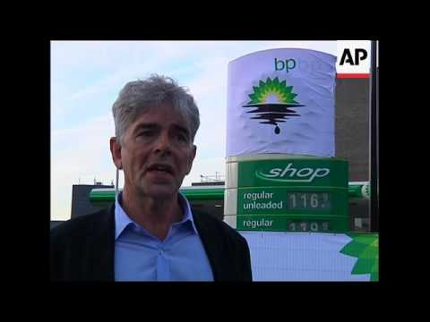 Protesters close down BP petrol stations; Dudley to replace Hayward as CEO