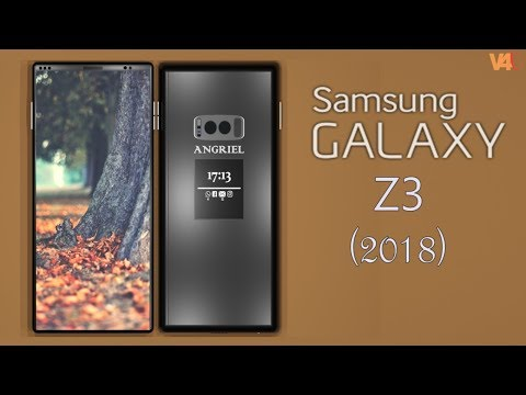 Samsung Galaxy Z3 Introduction With Dual Screen, Camera, Features -Galaxy Z3 2018 Bezel less Edition