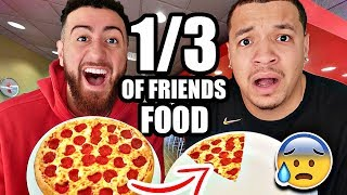 Download I ONLY Ate 1/3 Of What MY Friends Ate For 24 Hours!! (Impossible Food Challenge) FT CHADWITAJ Mp3 and Videos