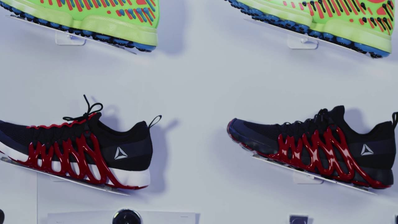 a29906a45cac The Reebok Liquid Factory Introduces  3D Drawing  to Sneaker Creation -  YouTube