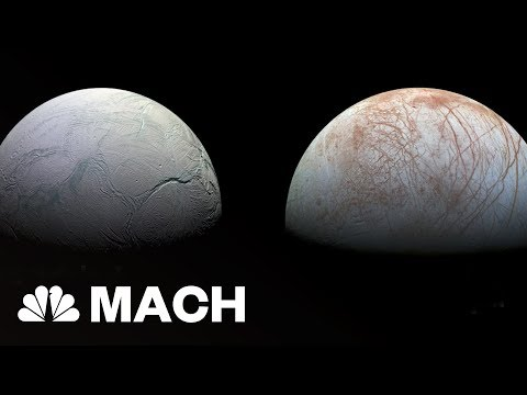 Enceladus and Europa Most Likely Worlds To Support Alien Life   Mach   NBC News