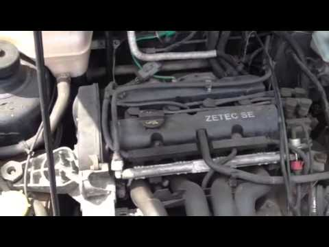 Ford fiesta 1.6 zetec s engine running