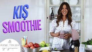 Kış smoothie'si nasıl yapılır? | avokado & muzlu smoothie tarifi | ayşe tolga İyi yaşam