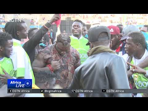 Senegal Traditional Wrestling: National sport reaping benefits as commercial value grows