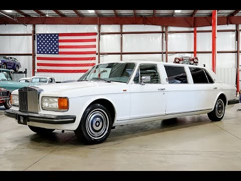 Rolls Royce Limo >> 1982 Rolls Royce Silver Star Limo White