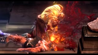 GodOfWarAscension Muertes Brutales cuerpo a cuerpo/Brutal Kills body to body
