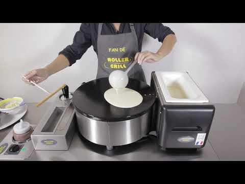 Enamelled Crepe Maker - Roller Grill