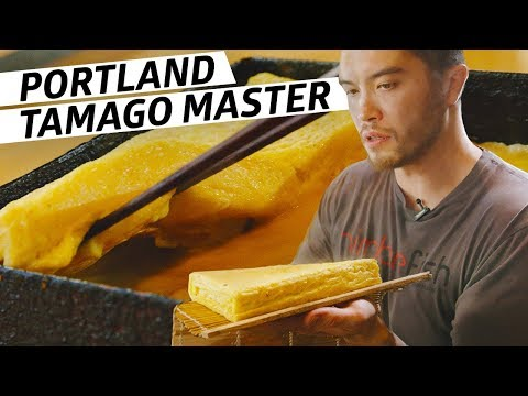 How a Master Sushi Chef Creates the Perfect Japanese Omelette: Tamago  Omakase