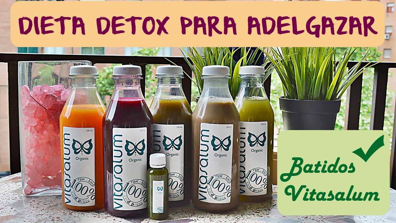 dieta zumos detox 3 dias