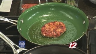 Faroe Island Cajun-Spiced Salmon Burger