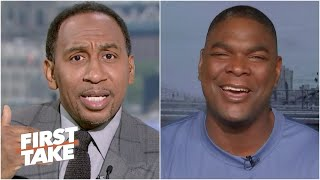 Stephen A. and Keyshawn debate Cam Newton and the Patriots as the Chiefs' biggest threat in the AFC