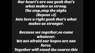 Zahara Stop the night lyric