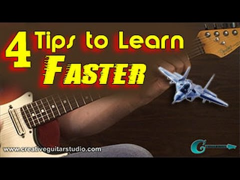 GUITAR THEORY: 4 Tips to Learn Guitar Faster