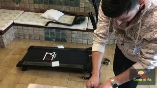 Montaggio tapis roulant