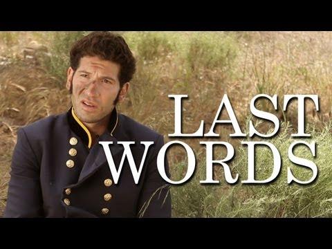 Last Words with Mark Pellegrino and Jon Bernthal