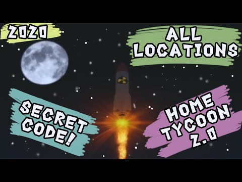 Home Tycoon 2 0 Secret Code All Locations 2020 Roblox Home Tycoon 2 0 Roblox Game Secrets Youtube