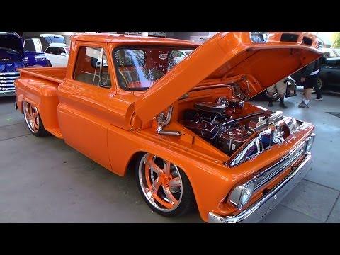 "1966 Chevy C/10 Street Truck ""Heaven Bound"" SEMA 2014"