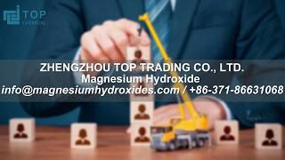 magnesium hydroxide uses logistics solution