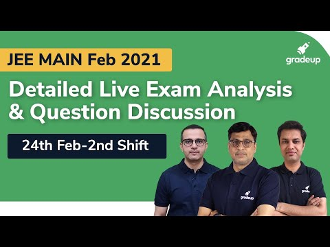 JEE Main 2021 Paper Analysis (24th Feb, 2nd Shifts) | JEE Main Question Paper 2021, Expected Cutoff