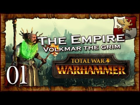 [1] VOLKMAR THE GRIM - Total War: Warhammer (The Grim and the Grave) Empire Campaign Walkthrough