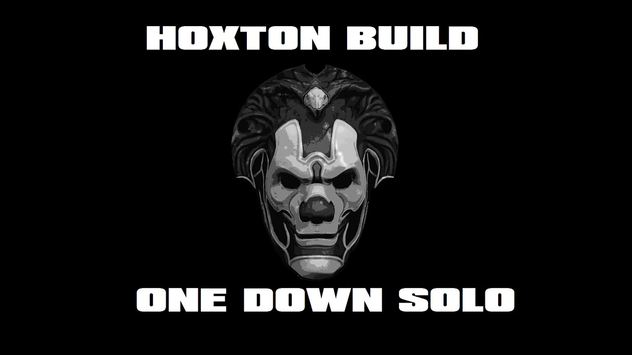 Hoxton Crook Build One Down Solo Payday 2 Youtube
