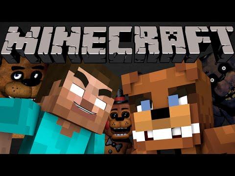 If Herobrine Met Freddy Fazbear - Minecraft