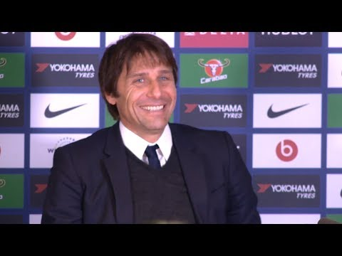 Chelsea 3-1 Newcastle - Antonio Conte Post Match Press Conference - Premier League #CHENEW