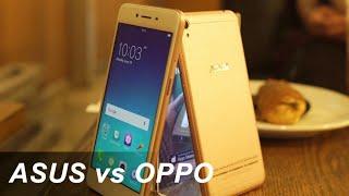 Zenfone Live vs Oppo A37