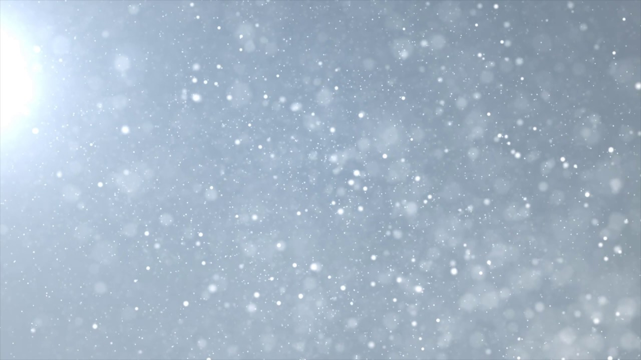 Free Falling Snow Wallpaper Snow Particles Floating In The Air 4k Relaxing