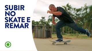 HOW TO GET ON YOUR SKATEBOARD AND PUSH