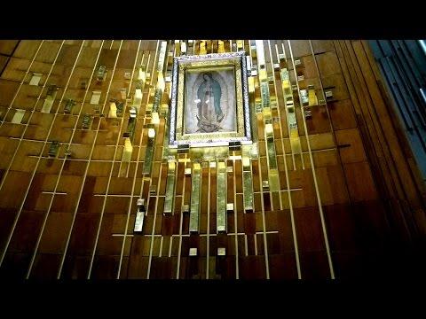 Basilica de Guadalupe in Mexico city