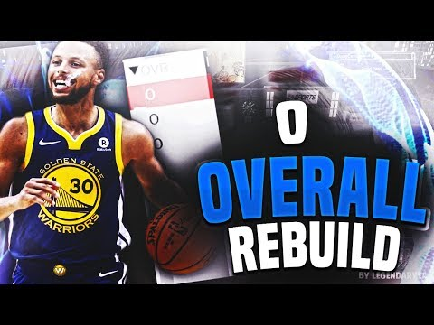 CRAZIEST REBUILD EVER?! REBUILDING A 0 OVERALL TEAM! NBA 2K1