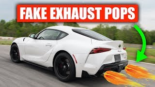 are-car-exhaust-crackles-pops-fake