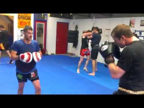 Intermediate/Advanced class at OTTAWA FIGHT & FITNESS