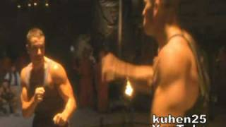Van Damme - The Quest fight scenes (before final)