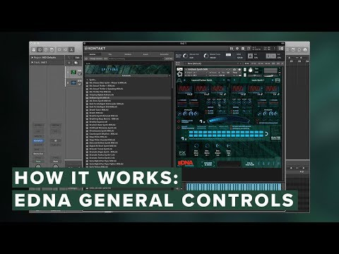 How It Works: eDNA — General Controls