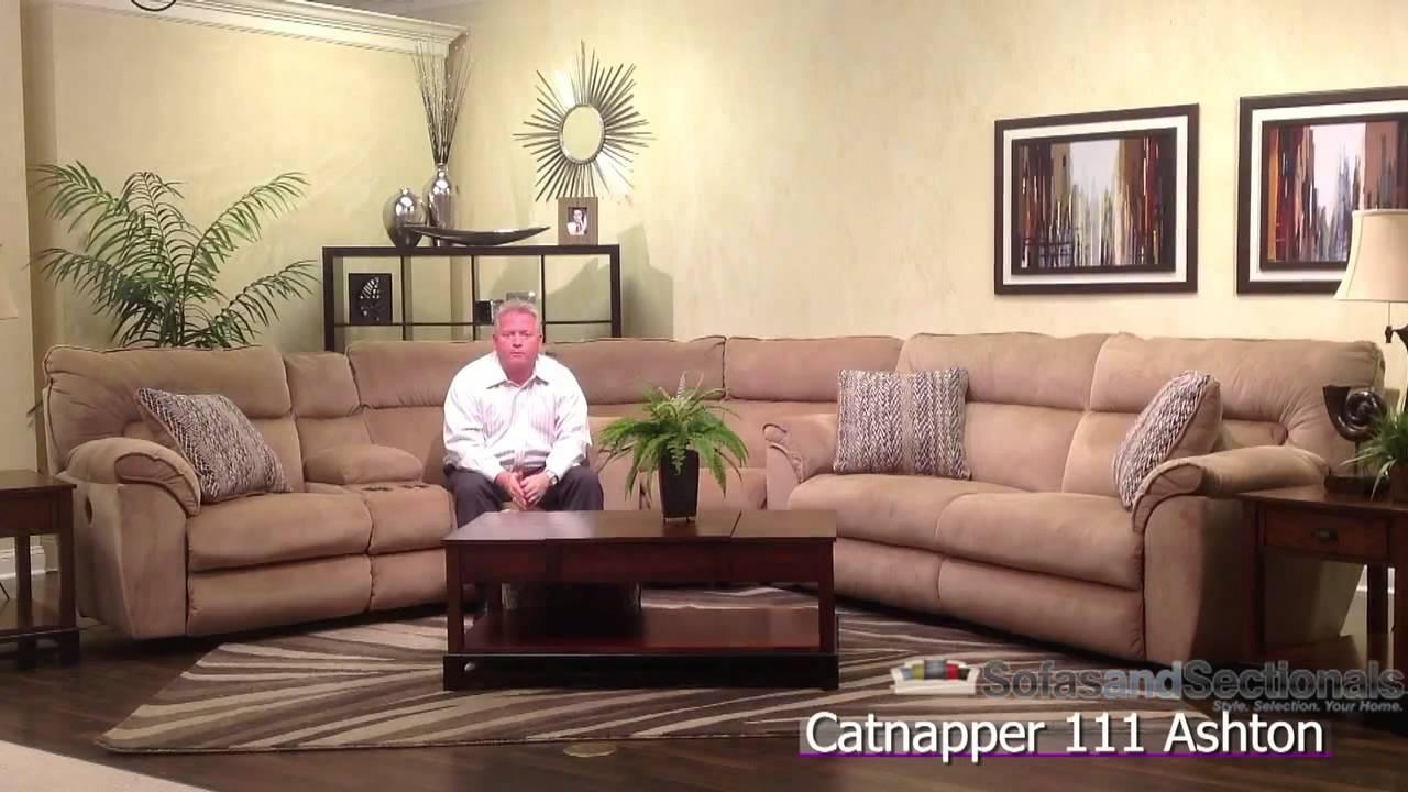Catnapper Ashton Sectional Sofa Youtube