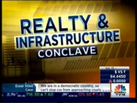Ashish Raheja at the CNBC Realty & Infrastructure Conclave July 2017