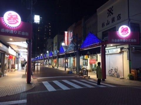 JAPANTRIP「tsukishima(moon island) monjya street」Chuo -ku, Tokyo【東京月島もんじゃストリート】 2015.3.24