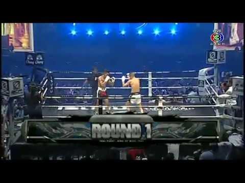 ไทยไฟต์ THAI FIGHT Anes Laxhmari (โมร็อกโก) VS ชนะจน พีเค.แสนชัยมวยไทยยิม (ไทย)16 สิงหาคม 2557
