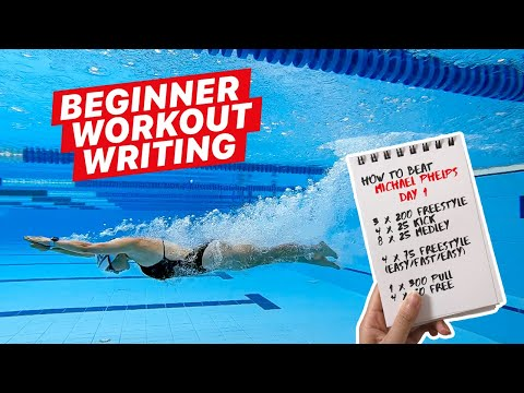 How to Write a Swim Workout for Beginners